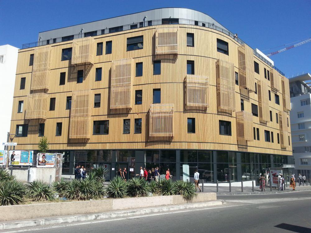 Prix national de la construction bois 2015 2 for Immeuble bureaux structure bois